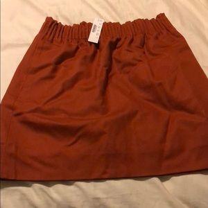 NWT J. Crew High Waisted Mini Skirt